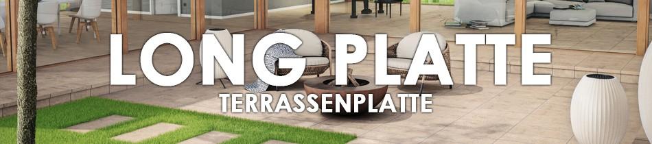 Terrassen Platte